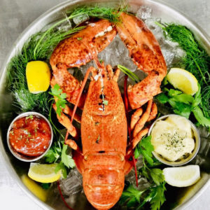 (SOLD OUT) Saltwater Lobster Dinner