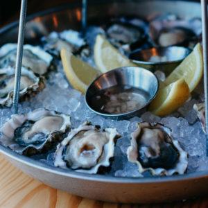 Kumamoto oysters by the dozen