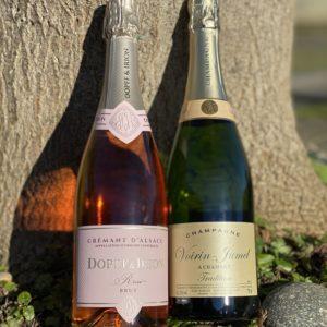 Dopff & Irion Cremant Rosé Brut Bubbles